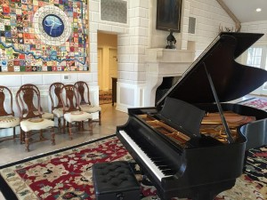 Oklahoma Governors Mansion Steinway
