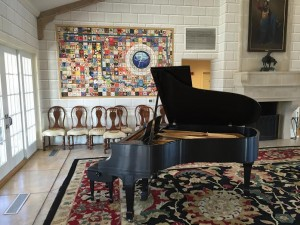 Restored Steinway A in Oklahoma Governors Mansion