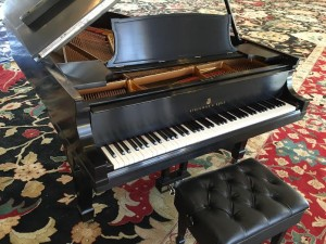 Steinway A in Oklahoma Governors Mansion