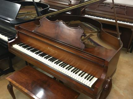 W.P. Haines & Co. Queen Anne Baby Grand